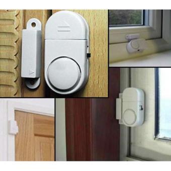 Alarm Anti Maling - Sensor Pintu & Jendela - 1 Set