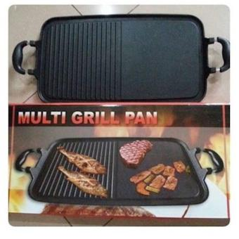 Alat Plate Panggangan Sate Ayam Steak Jagung Ikan Sosis Tanpa Arang - F2degk