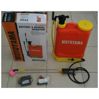 Alat Semprot Hama/Battery+Manual Sprayer Motoyama .