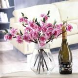 Artificial Flower Cherry Blossom Sakura Handmade untuk Pesta Pernikahan Dekoratif-Intl - 2