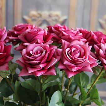 Sutra Rose Kelopak Pernikahan Buatan Bunga Nikmat Persediaan Rumah Dekorasi. Source ·