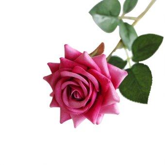 Bandingkan Toko Bunga Mawar Buatan AUkEy untuk Dekorasi Pesta (Rose Red)- Intl harga