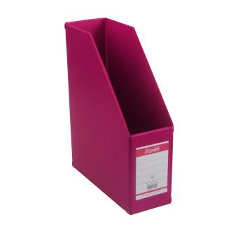 Bantex Magazine File (Box File) 10cm Folio Grape #4011 61