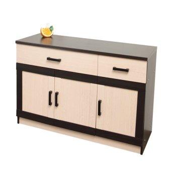 Best Toppan Kitchen Dapur Set Bawah 3 Pintu Urbana Series - Krem