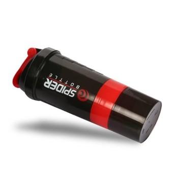 Botol Minum Fitnes / gym Shaker - Spider Bottle Shaker 600ml B-66