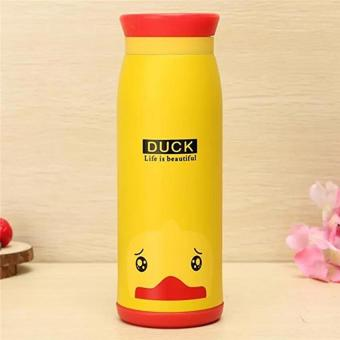 Botol Minum Termos Air Animal Stainless Steel 500 ml New Model - Duck - Babamu