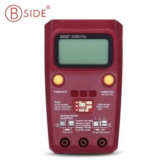 BSIDE ESR02 Pro Digital Transistor Tester Diode Capacitance Resistance Chip Component Inductance Meter - intl