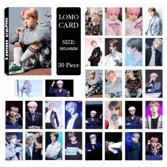 BTS Bangtan Boys YOU NEVER WALK ALONE JIMIN Album LOMO Kartu Baru Fashion Self Made Paper
