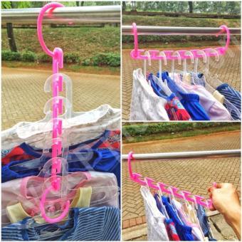 BUNDAINASHOP Magic Hanger / Wonder Hanger / Hanger Ajaib gantungan baju ajaib