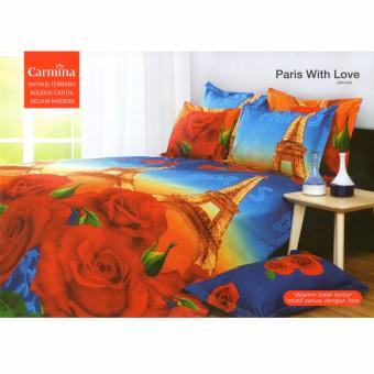 Carmina Sprei Set Paris With Love Single 120x200