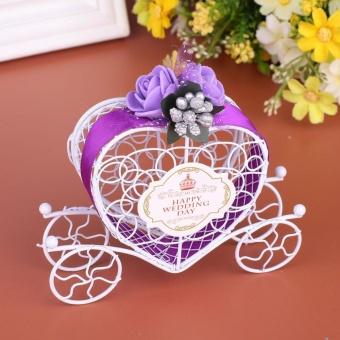 Dirancang Carriage Candy Box dengan Pegangan untuk Pesta Pernikahan Favor-Intl ...