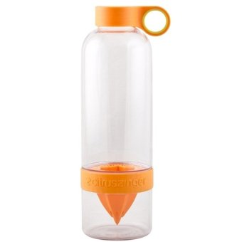 Citrus Zinger Water Bottle Twist Infused Botol Minum BPA Free - Orange