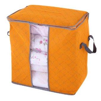 Tas Penyimpanan Pakaian Kotak Penyimpanan (Orange)