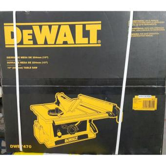 Dewalt DWE7470 Table Saw 10 Inch Mesin Potong Kayu Meja Circular Saw