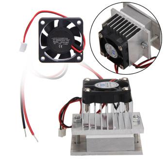 Dibuat Sendiri Kit Termoelektrik Peltier Refrigerasi Sistem Pendingin + Fan + TEC1-