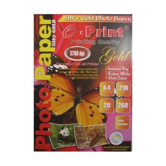 e-Print Silky Photo Paper A4 Premium