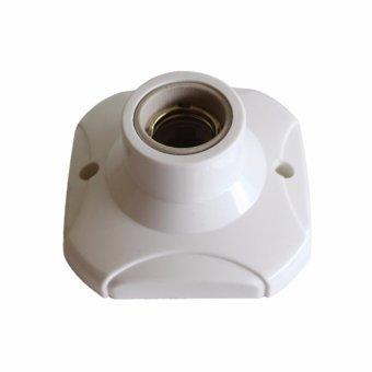 EELIC Fitting Plafon Bulat Lampu Rumah Plafon E27 Keramik Type 882