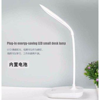 Eigia Lampu LED Meja Belajar Baca Buku Rechargeable Desk Light JP6601 Reading Book Lamp Simpel Mudah