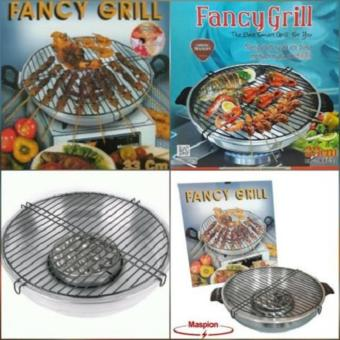 Fancy Grill Stainless 33cm maspion - Pemanggang