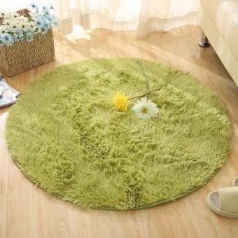 Halus Bulat Permadani Karpet untuk Ruang Tamu Kilim Tiruan Bulu Carpet Kamar Anak-anak Panjang