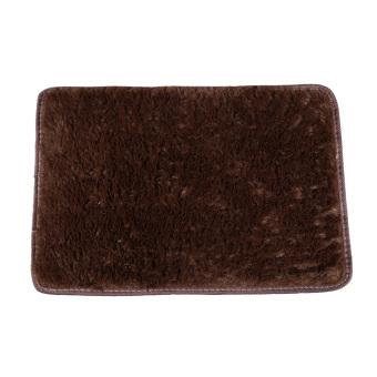 Karpet Empuk Dan Anti Selip Ramus AreaHome Kamar Tidur Lantai Karpet Tikar Kopi - intl