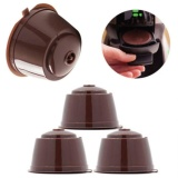... GETEK 4 Reusable Coffee Capsules Cup Filter For Dolce Gusto Refillable Brewers Nescafe - intl ...