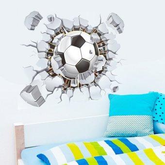 GETEK Football Club Decorative Wall Sticker (Putih)