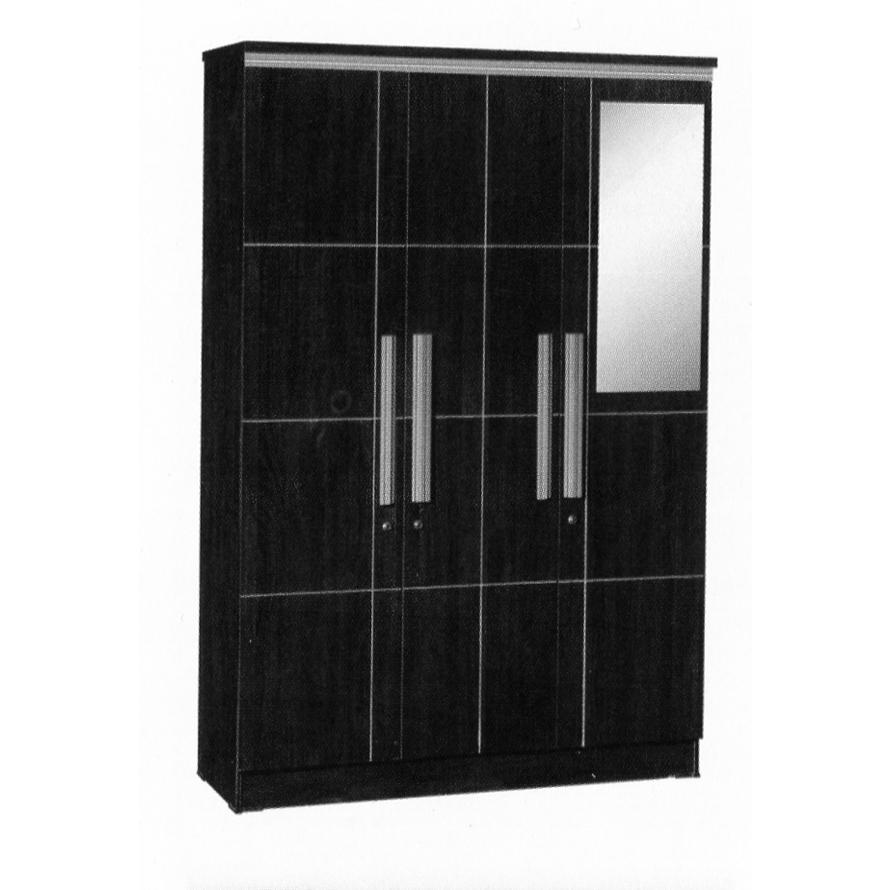 graver furniture lemari pakaian 3 pintu lp 8798