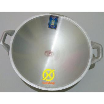 Hafshop Kuali Wajan Tumis Penggorengan Aluminium No 15 37 Cm