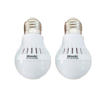 Hinoki Lampu Bholam LED 3 watt 2 pcs