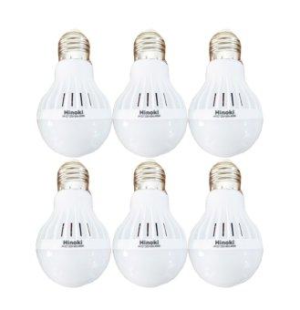 Hinoki Lampu Bholam LED 5 watt 6 pcs