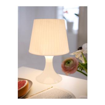 IKEA Lampan Lampu Meja - Lampan Lamp IKEA (Putih)