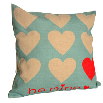 Harga OLC Bantal Sofa Motif One True Love Q8