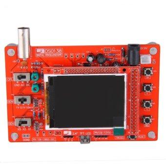 Harga Oh DSO138 Disolder Saku Ukuran Kit Komponen Elektronik Osiloskop Digital Dibetulkan Merah .
