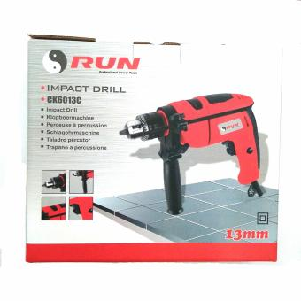 Harga RUN 13mm Power Impact Drill / Mesin Bor beton