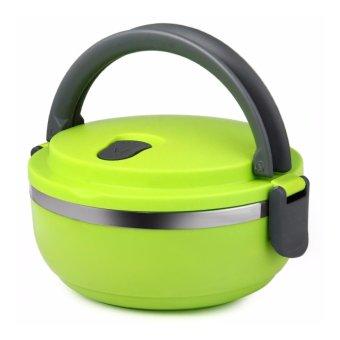 Harga Eco Lunch Box Stainless Steel Rantang 1 Susun Hijau
