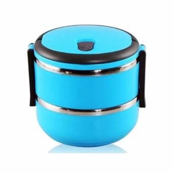 Harga Lunch Box Stainless Steel Rantang 2 Susun