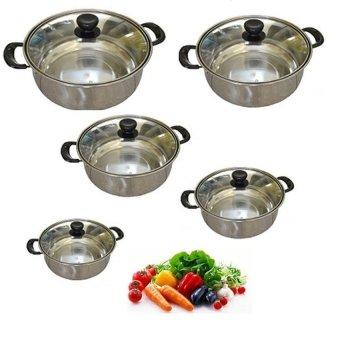 Spek Dan Harga American Style High Pot Series Panci Set 5 Pcs Source .