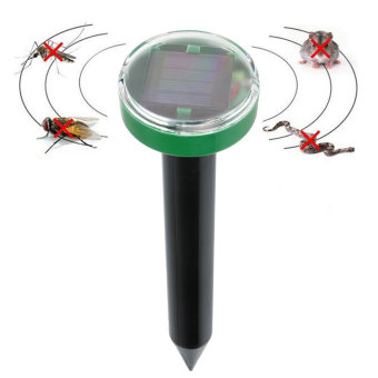 Solar Power Eco-Friendly Ultrasonic Pest Balcony Garden Reject Control