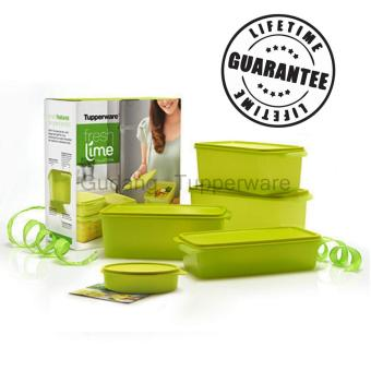 Harga Tupperware Fresh Lime Collection