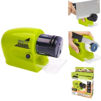 Harga ELectric Swifty Sharp Electric Sharpener / Pengasah Pisau Elektrik - Hijau
