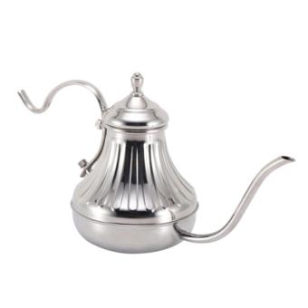 Harga Kettle Leher Angsa Aladin 650ML Full Shiny Stainless Tebal