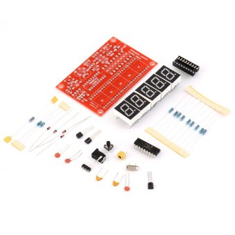 Allwin 50MHz DDS TS-FG120 Crystal Oscillator Frequency Counter Meter Digital LED Kit (Red