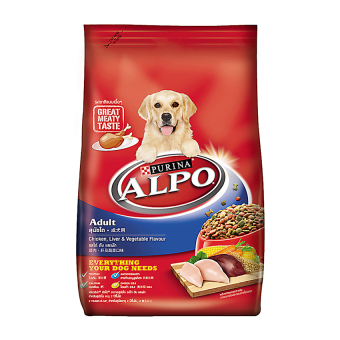 Harga Alpo Adult Chicken, Liver & Vegetables - 1.5Kg