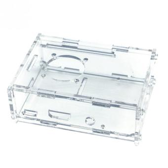 Harga Transparent Clear Case Enclosure Box for Raspberry Pi 2 Model/ B+/3 clear