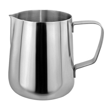 600ml Thicken Stainless Steel Coffee Latte Milk Frothing CupPitcher Jug with Handle - intl