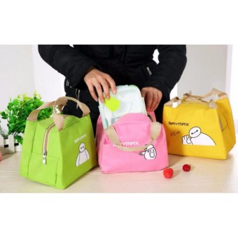 Harga Super Hero - Lunch Bag Cooler Bag Tas Bekal Makan FREE Ice Cooler
