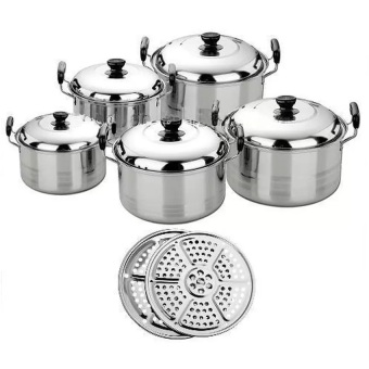 Harga Paling Laku Panci America High Pot 5 in 1 - Panci dan Steamer