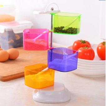 Magic Home Tempat Bumbu 4 in 1 Fancy Seasoning Box