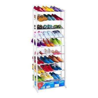 Harga Amazing Shoe Rack / Rak Sepatu 10 Susun